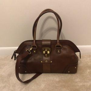 Etienne Agnier Brown Leather Purse